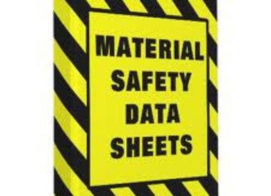 SDS sheets