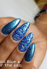 Glitter Gel Metallic Blue