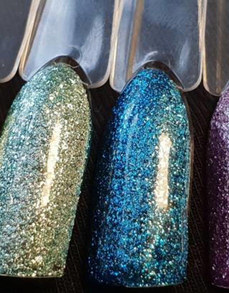 Glitter Gel Metallic Cerise
