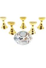 Tip Holder Crystal Clear 5 pcs