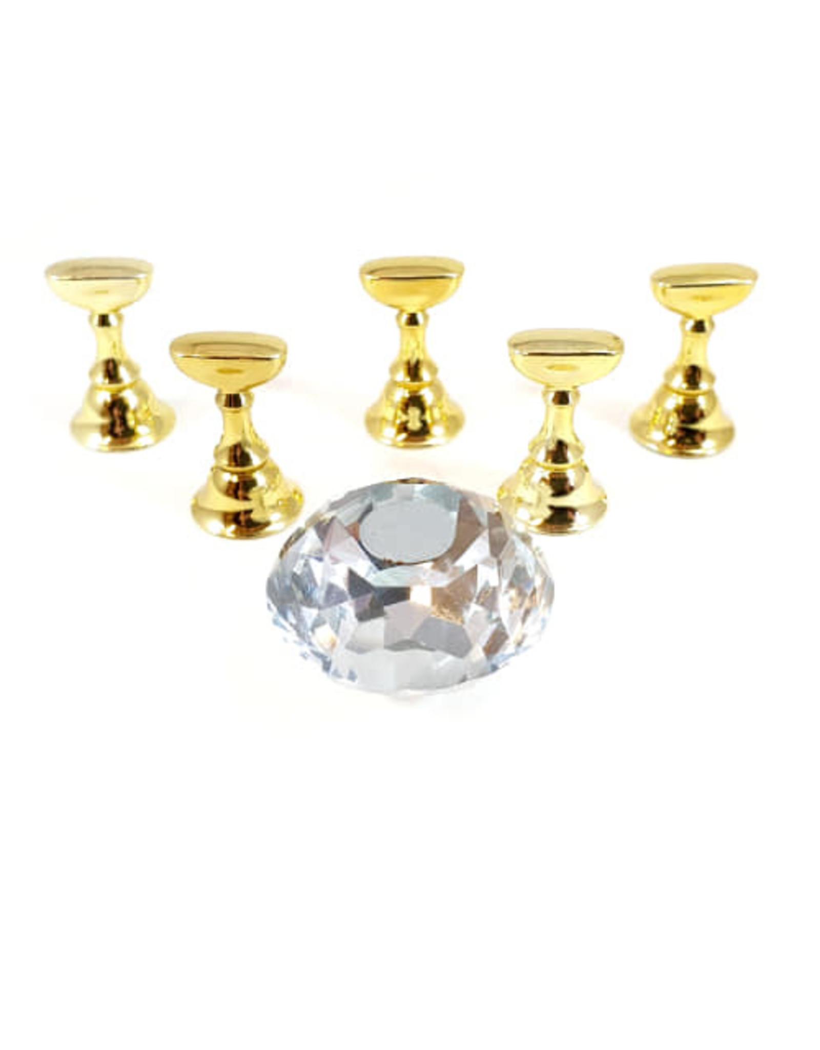 Tip houder Diamant Clear 5stuks