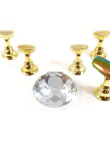 Tip holder Diamond Clear 5 pieces