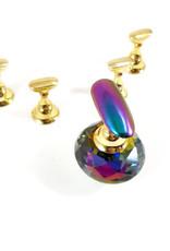 Tip houder Diamant Rainbow 5stuks