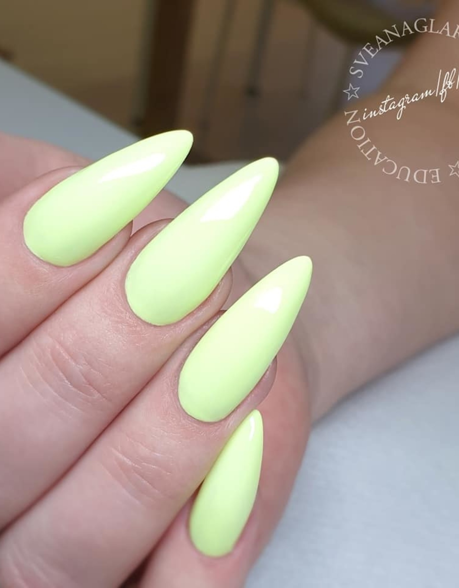 Gel Polish Lemon Lime