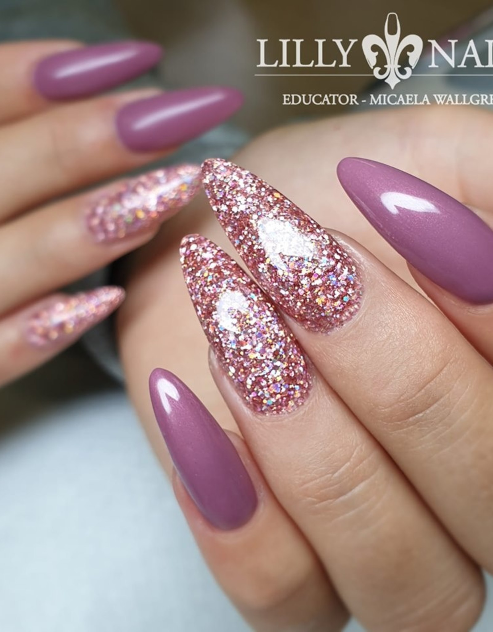 Glittermix, Mauve by Solin