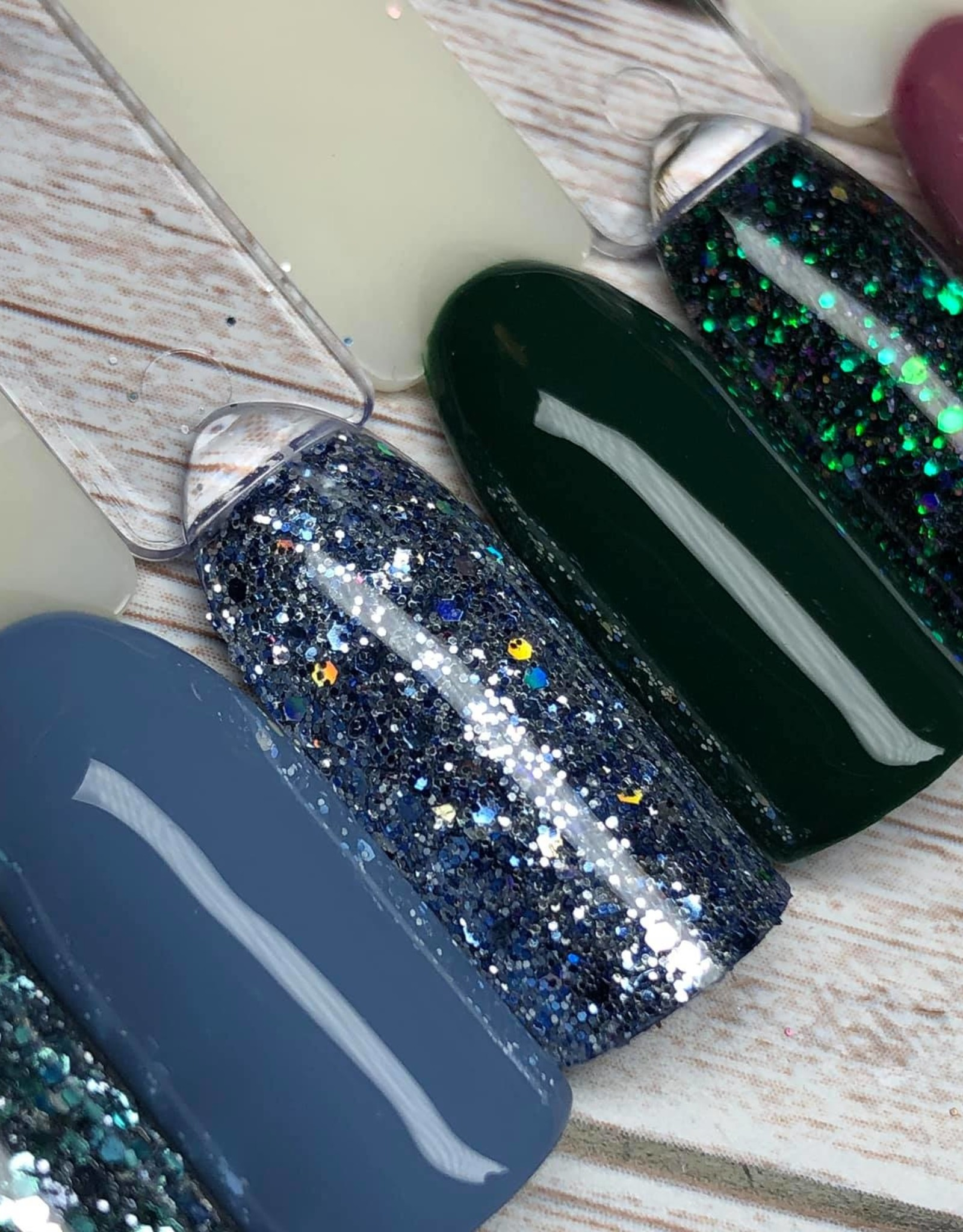 Glitter mix, Deep Forest by Solin