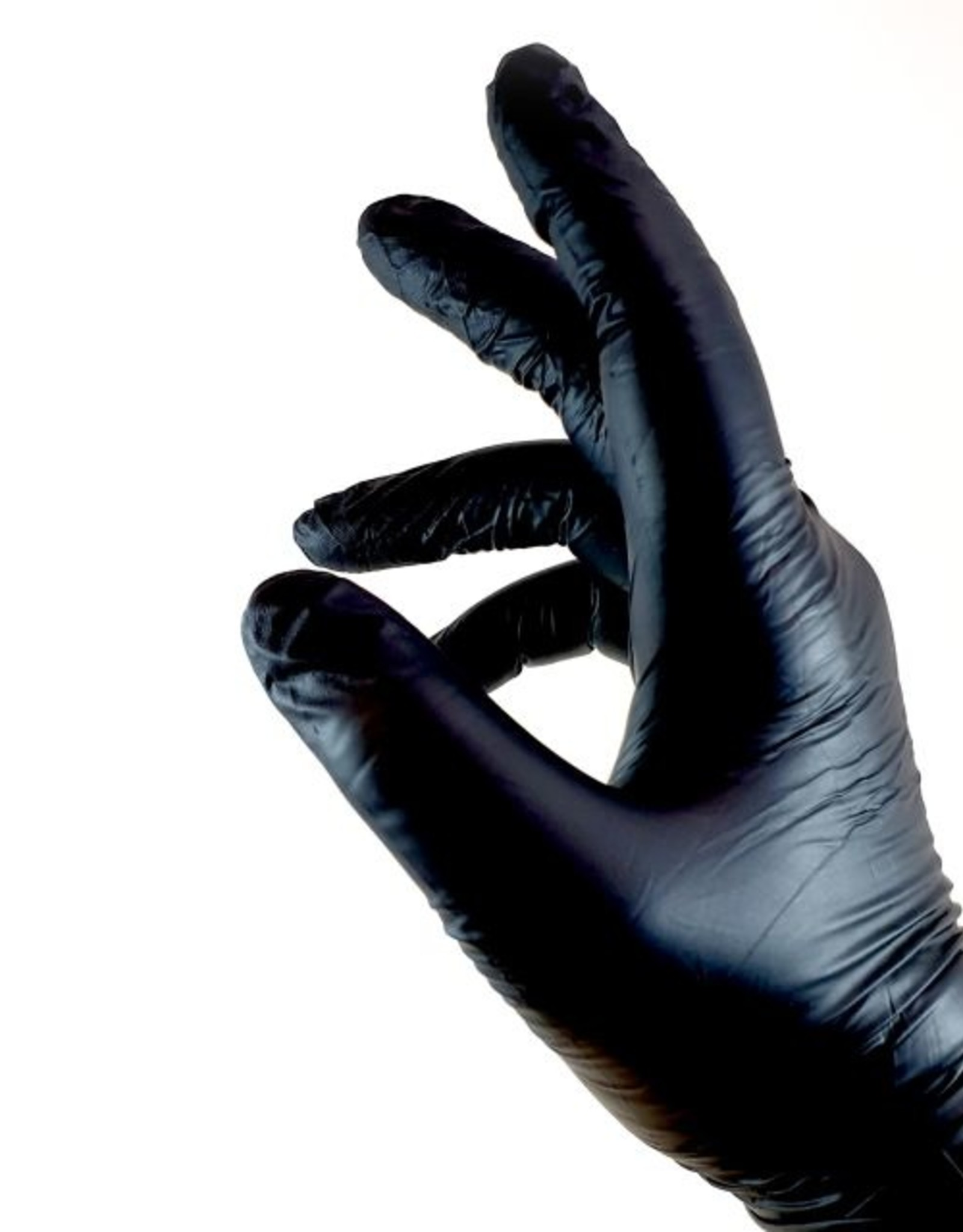 Nitril handschoenen Zwart