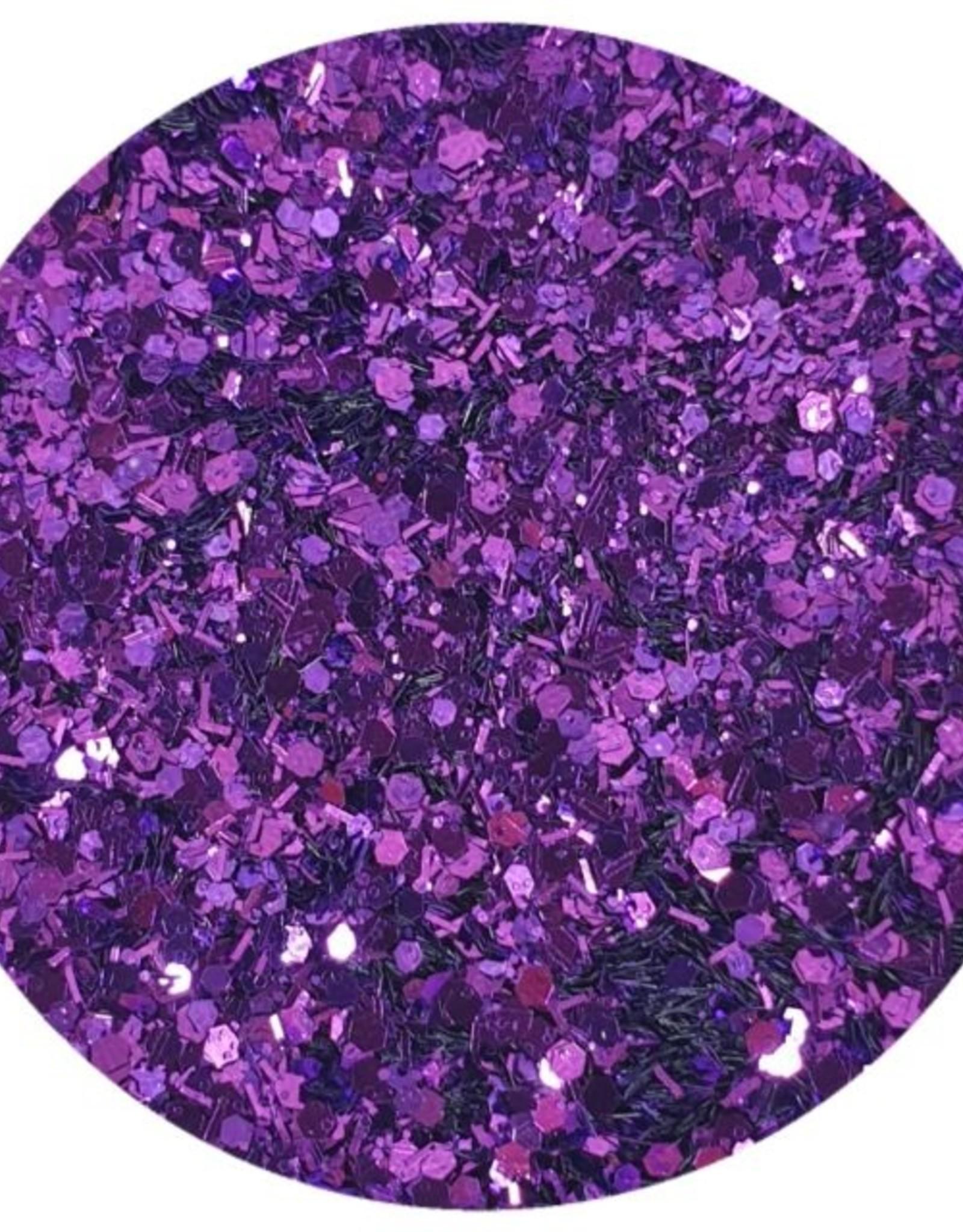 Glitter mix, Purple rain