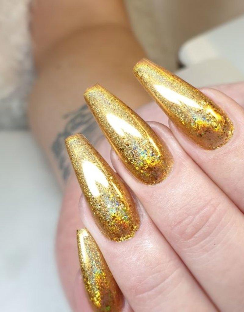 Lazer Flakes, Gold