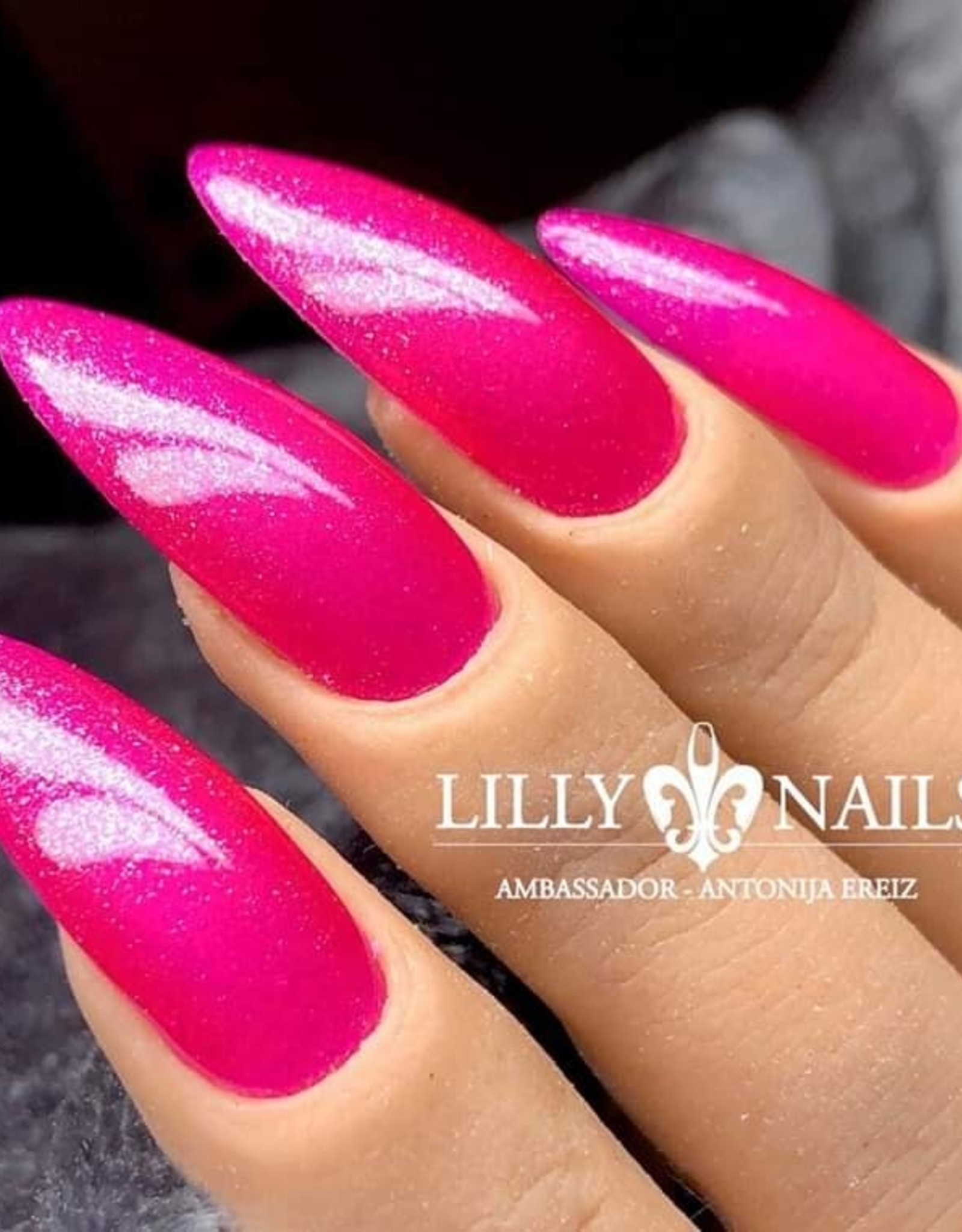 Gel Polish Sparkling Pink