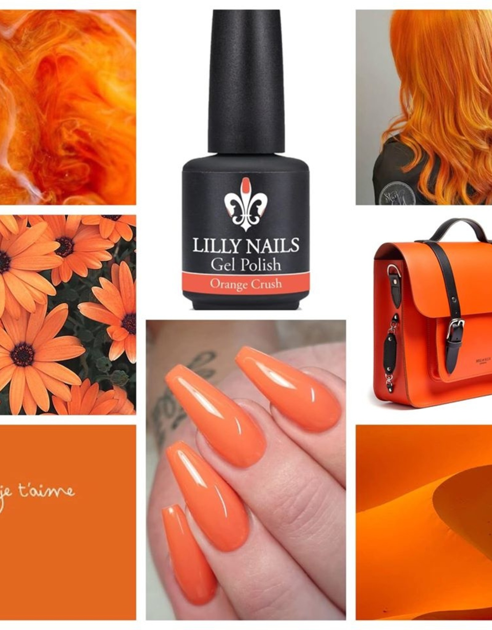 Gel Polish, Orange Crush