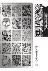Moyra Stamping Plate Ornaments