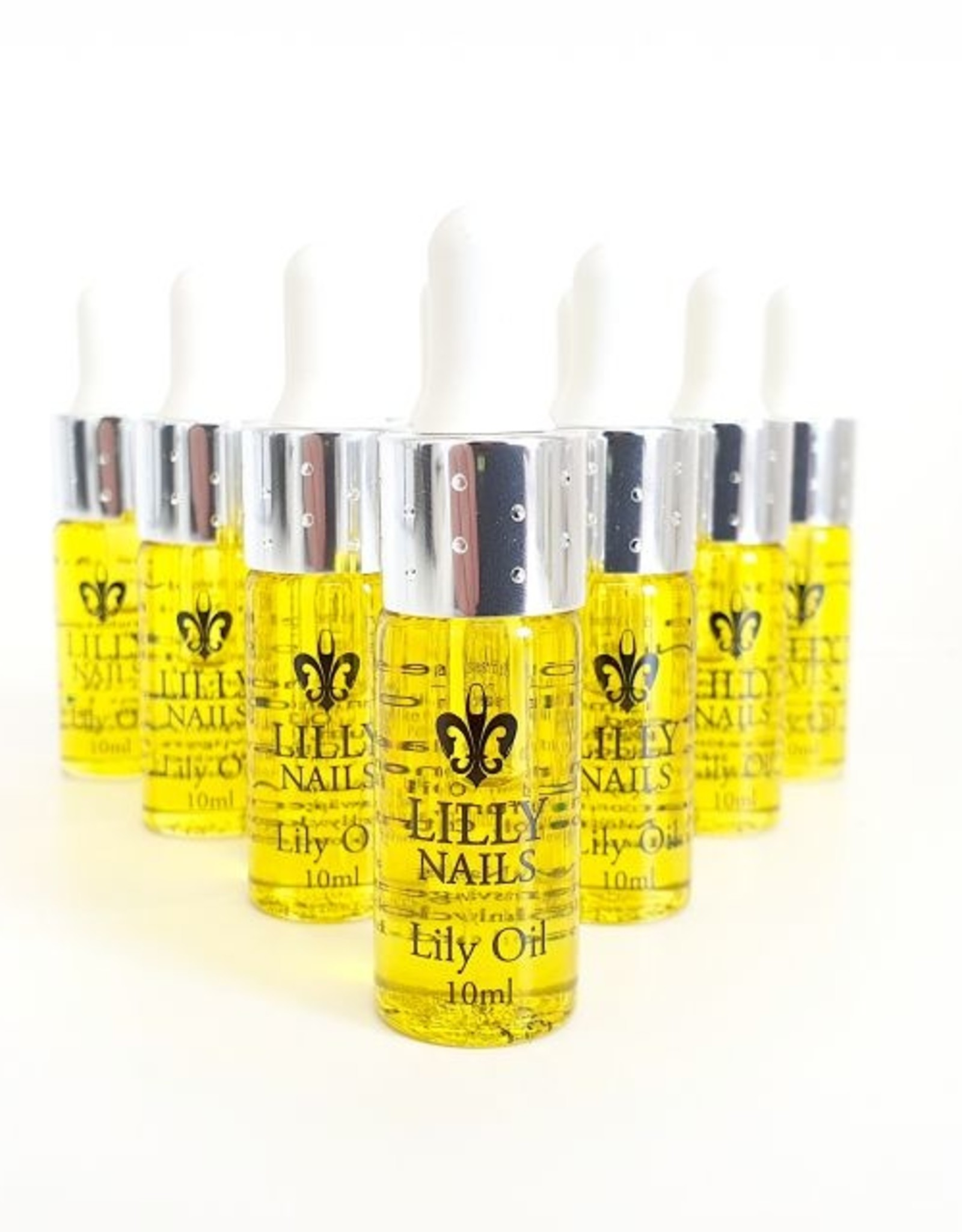 Nagelriem  olie Lily pipet 10ml 10 stuks