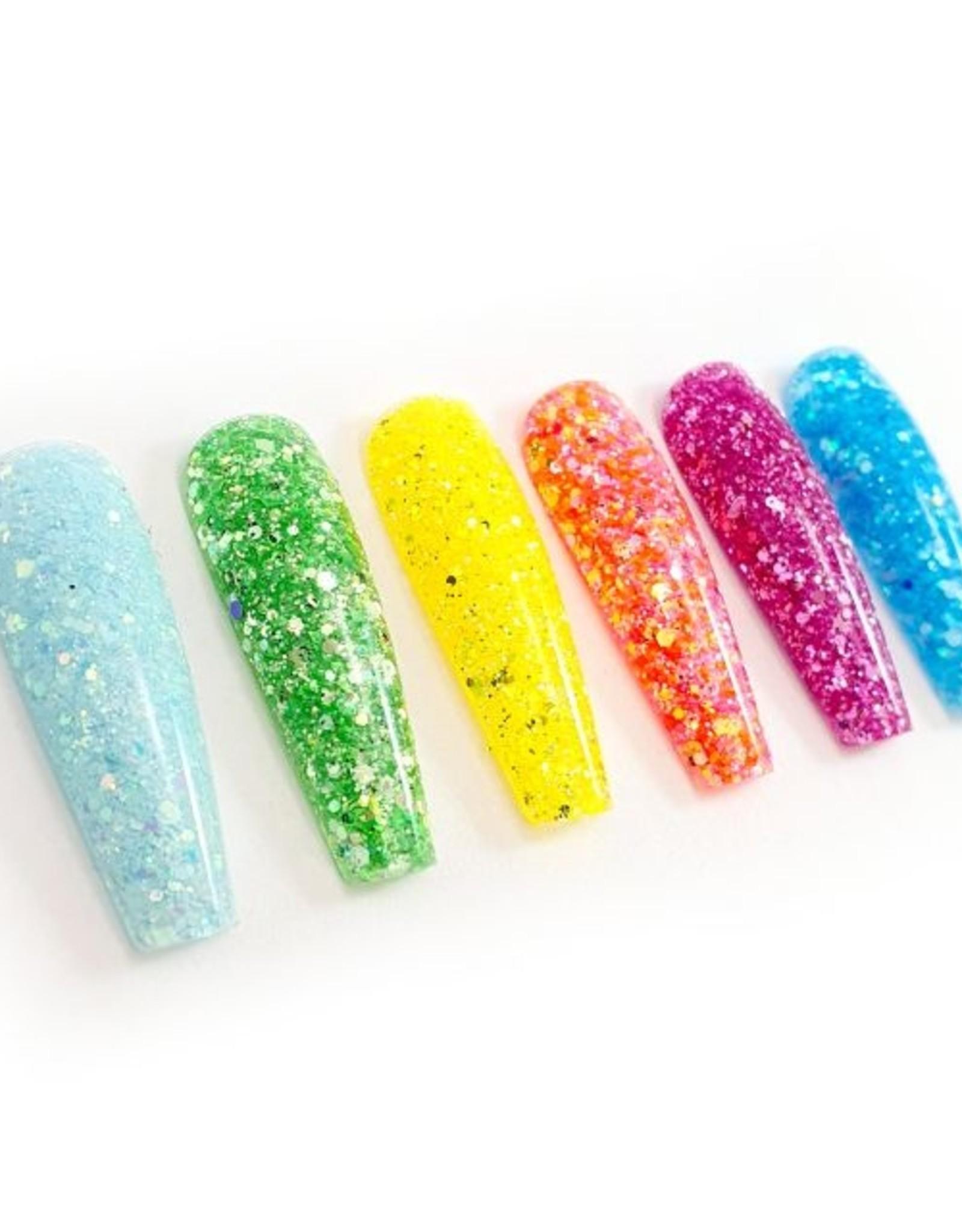 Glitter mix, Summer Sky