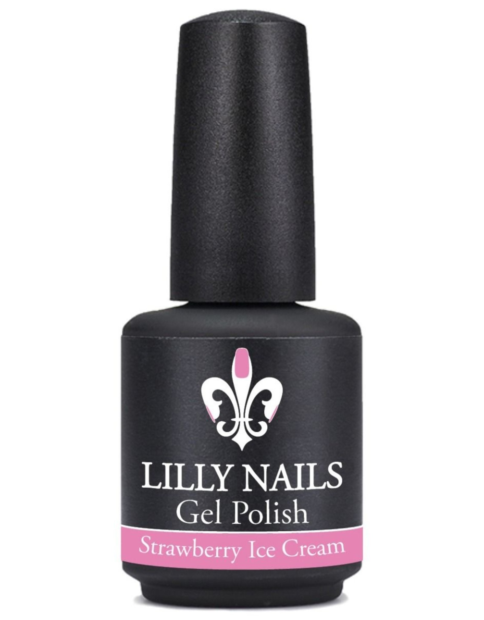 Gel Polish, Strawberry Ice Cream
