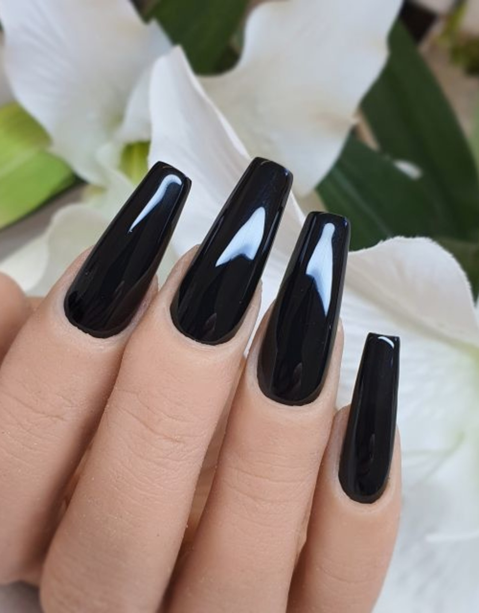 Gel Polish Soft Black