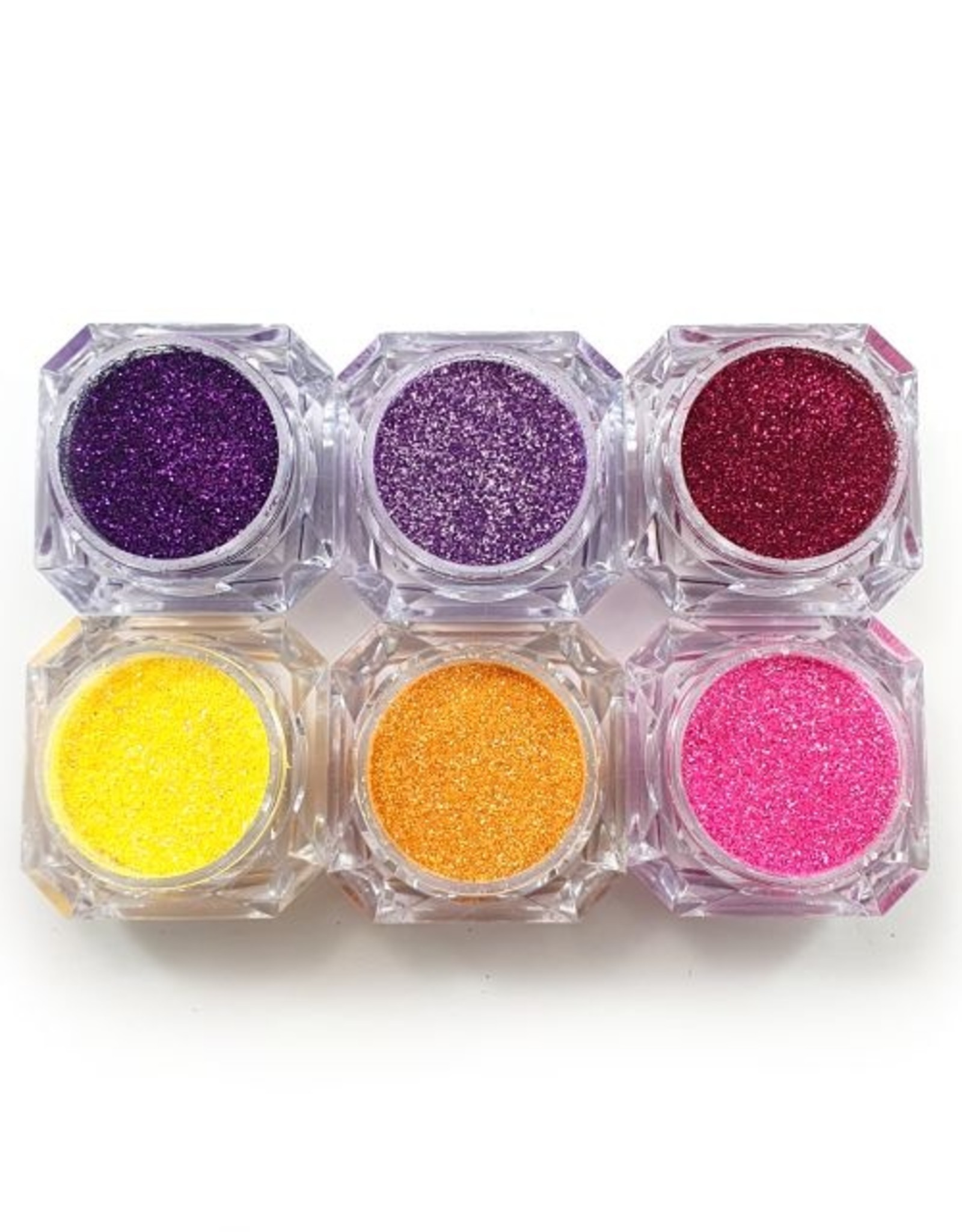 Glitter Mix Basic Tropical Collection 6 pcs
