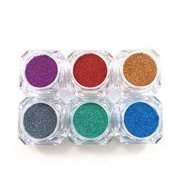 Glitter Mix Basic Holo Collection 6 pcs