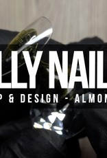 Lilly Nails  Tips Almond Clear
