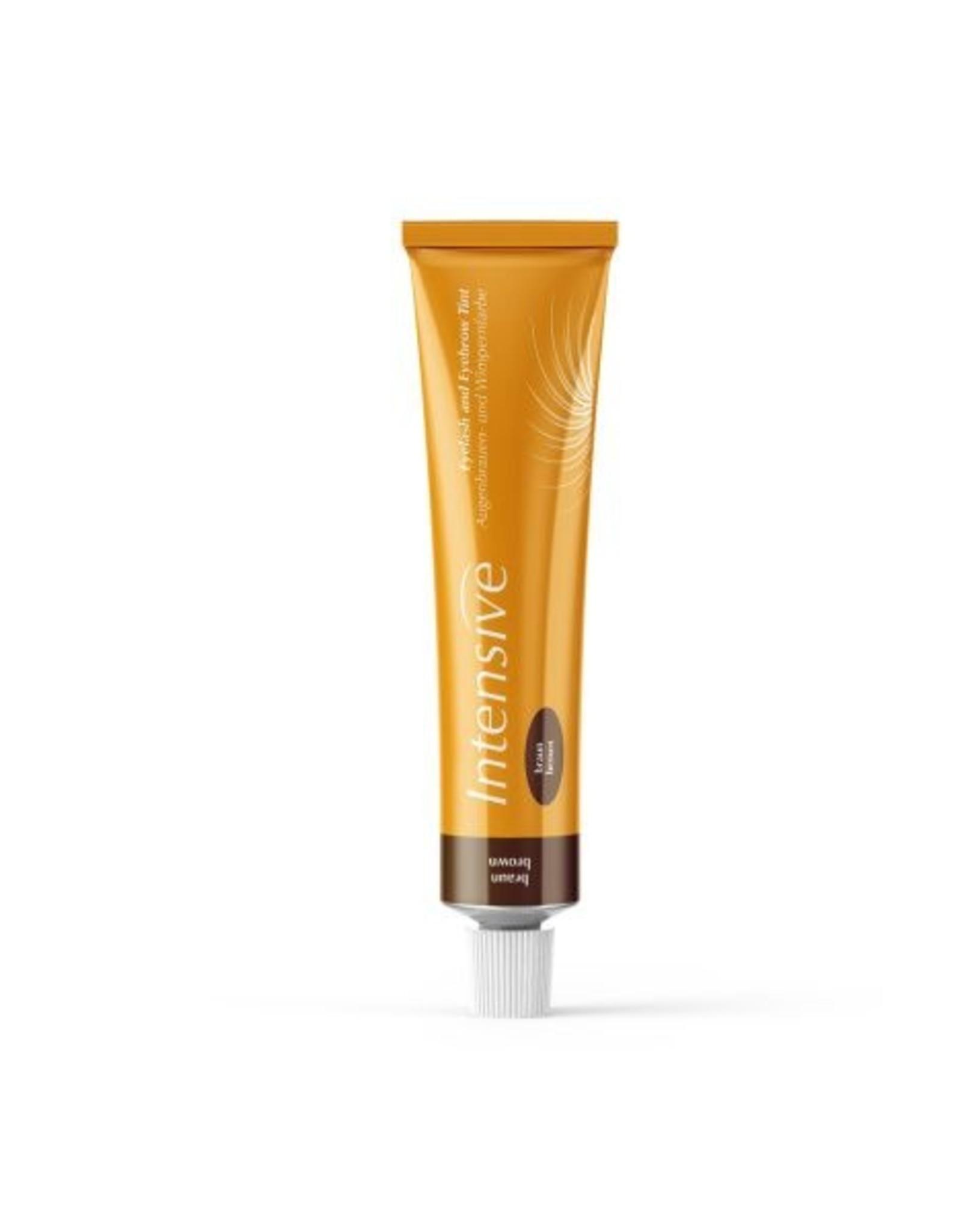 Eyelash and eyebrow dye from Biosmetics. - Tint Brown
