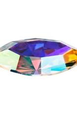 Preciosa Navette 8x4mm Crystal AB