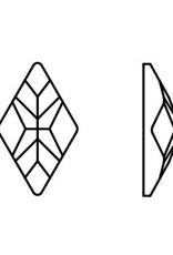 Preciosa Rhombus 10x6mm Crystal AB