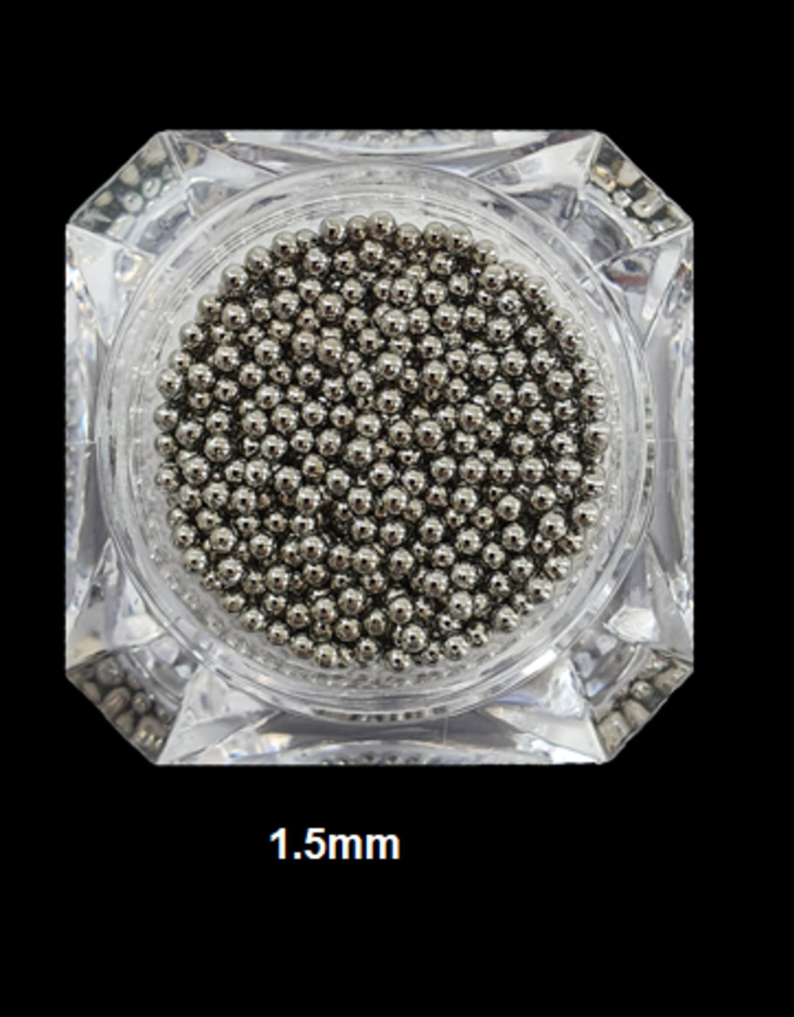Nailart beads / caviar Gray