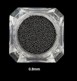 Nailart beads / caviar Black