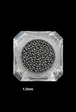 Nailart beads/kaviaar Zwart