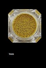 Nailart beads / caviar Gold
