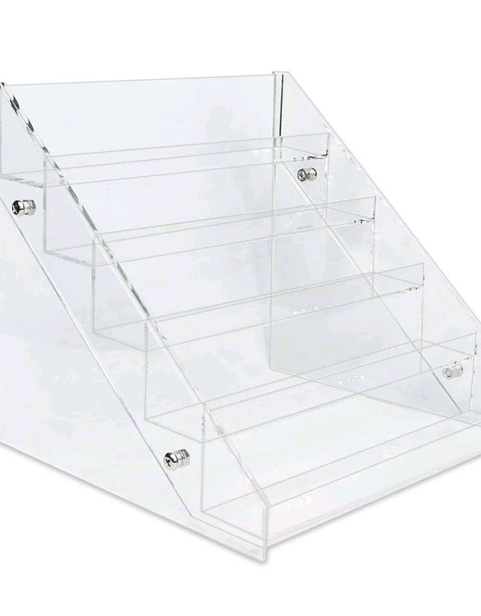 Display Transparent in various sizes for, for example, gel polish or glitter mixes