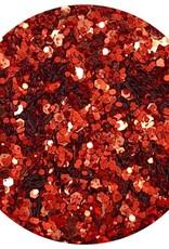 Glitter mix Brick Red