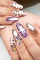 Glitter Gel Metal Lilac
