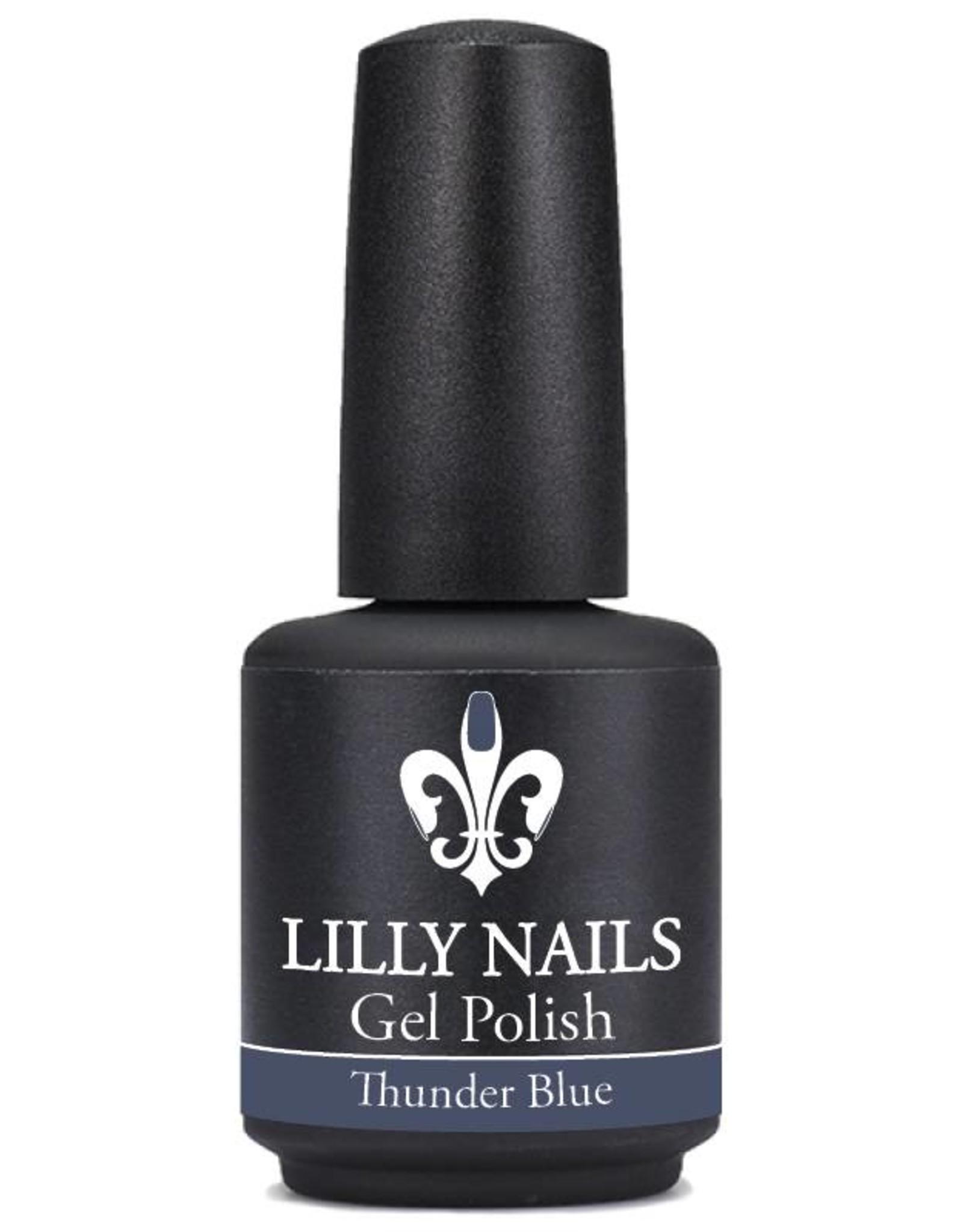 Gel Polish Thunder Blue