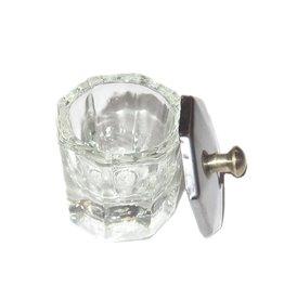 Werkmateriaal Dappendish glas klein