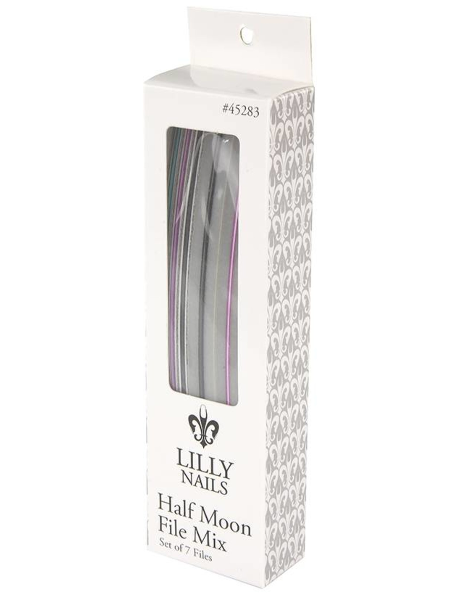 MIXED HALF MOON FILES 7PCS