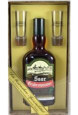Eckerts Wacholder Brennerei GmbH  Aquavit wird aus sehr reinem und fast geschmacksneutralem Alkohol landwirtschaftlichen Ursprungs hergestellt. Die Zusammensetzung der jeweiligen Gewürzmischung bestimmt den Charakter des Produkts.