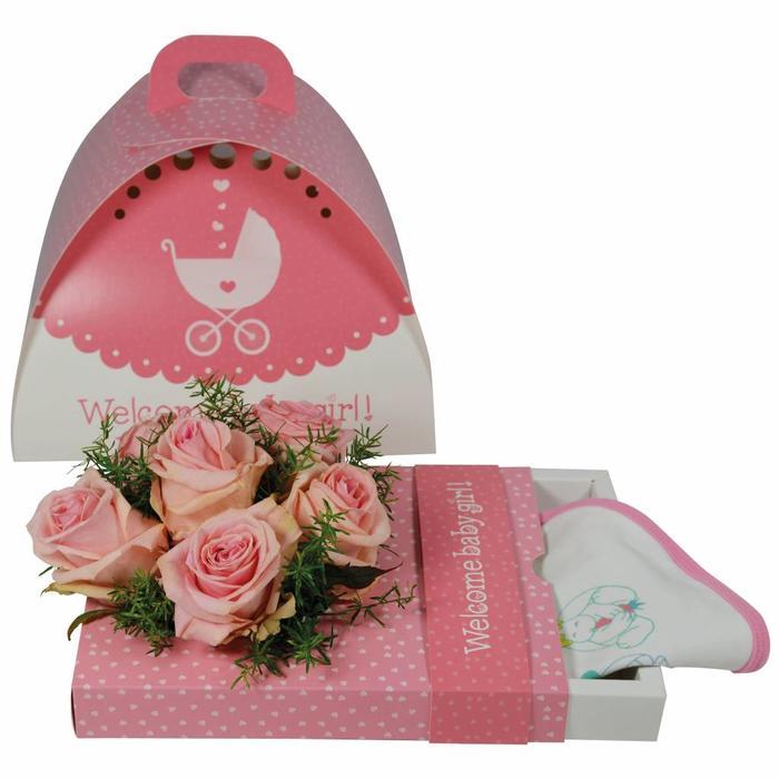 Blumen Geschenkverpackung