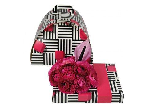 """Geschenkverpackung """"unifarben pink"""""""