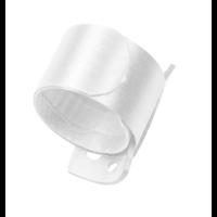 Wrap wristlet Armband, 2,5 x 23 cm, Weiß
