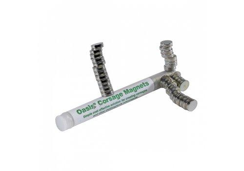Corsage Magnete, 1 cm Ø, 10er Pack