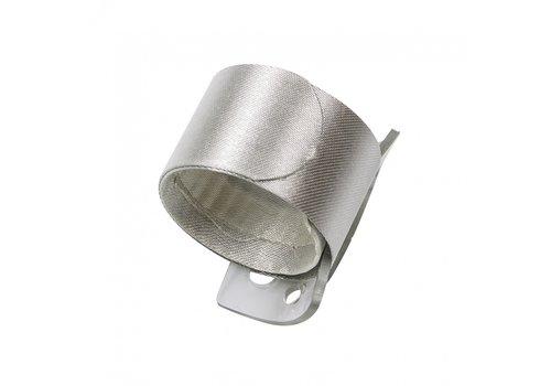Wrap wristlet Armband, 2,5 x 23 cm, Elfenbein