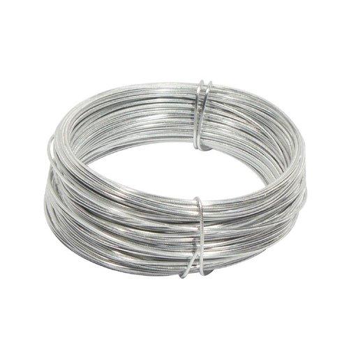 Runddraht aus Aluminium, 30 x 2 mm Ø, Silber