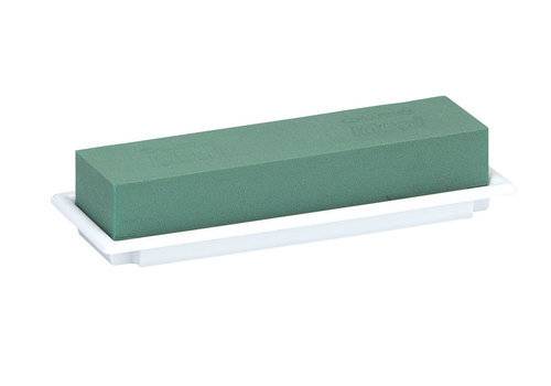 OASIS® Table Deco Medi, 25 x 9 x 5 cm, Weiß, 1er Pack