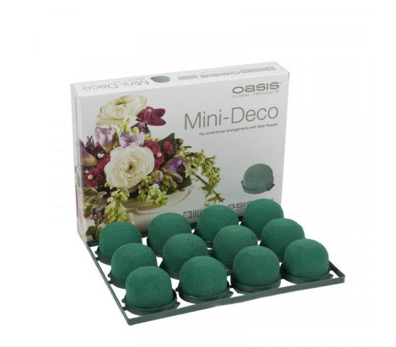 OASIS® Mini Deco IDEAL, 3,5 x 5 cm Ø, 1er Pack