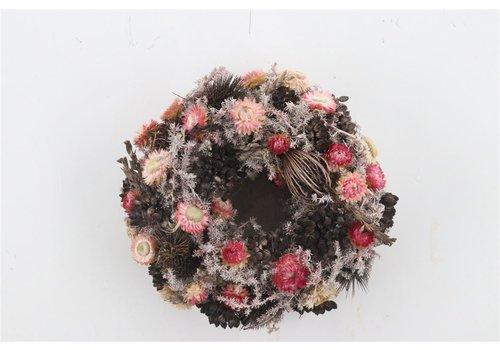 Dekokranz  in Natur/Coralle