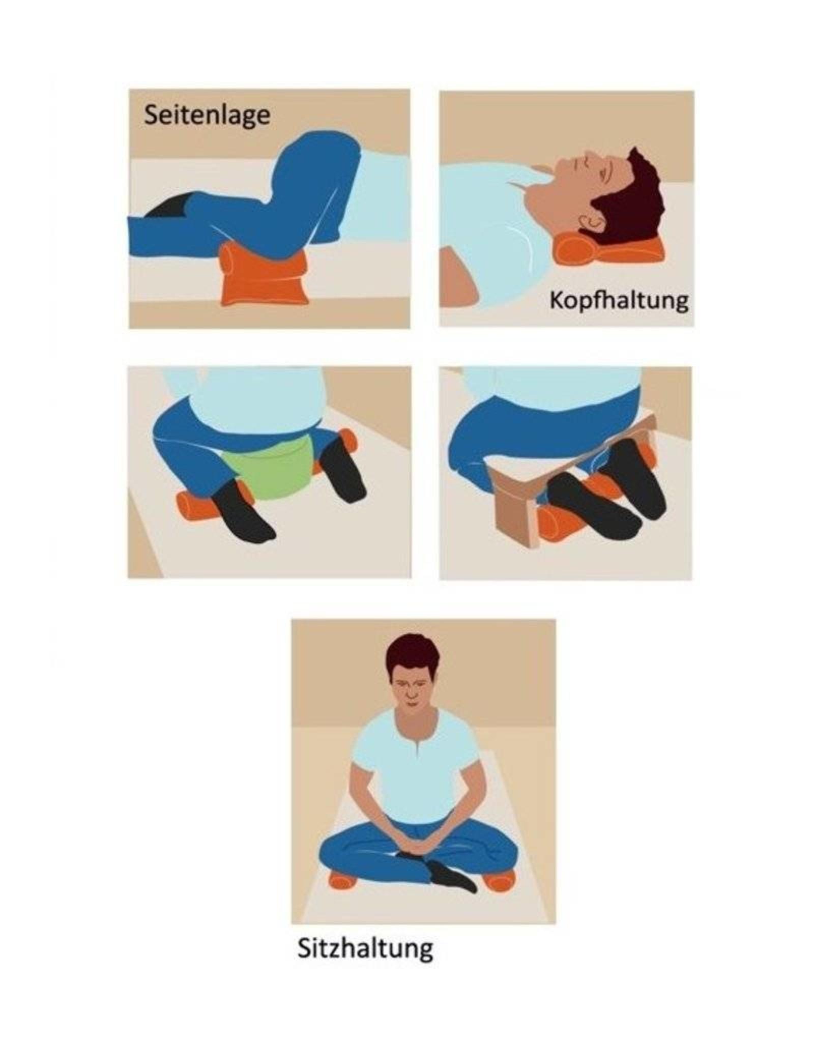 Mani Vivendi plat yogakussen