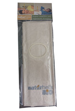 Naturhelix oorkaarsdoekje biologisch katoen