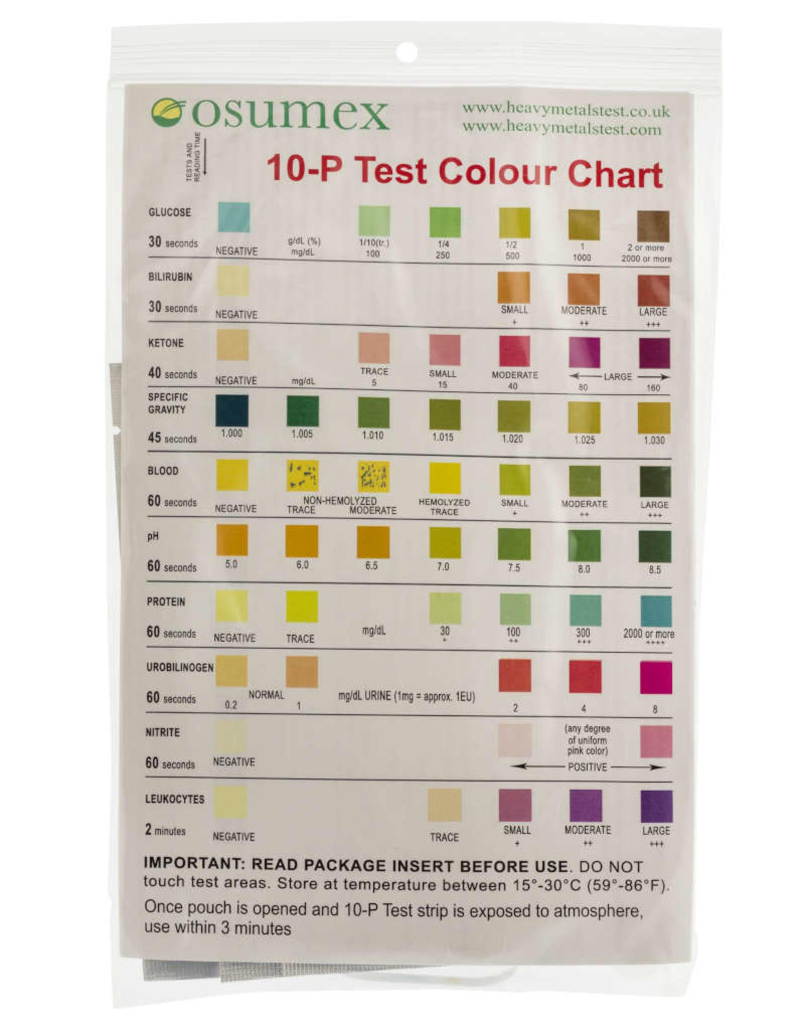 Osumex 10 punten urine test