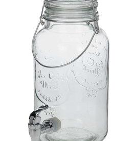Mani Vivendi Glazen 4 liter kombuchapot met aftapkraan